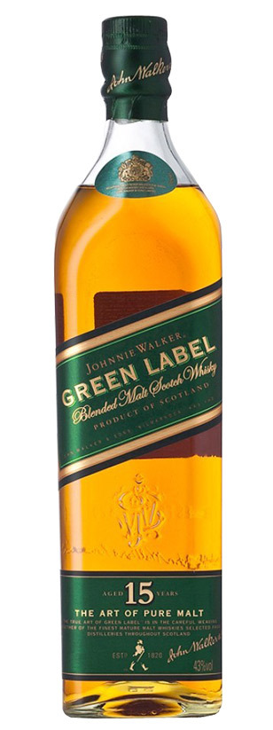 Johnnie Walker, Green Label 15 Años