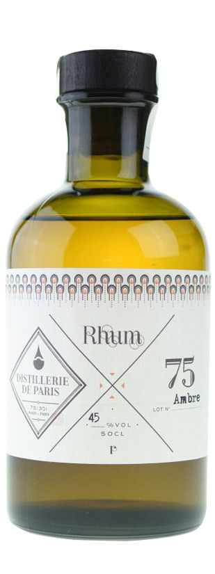 Distillerie de Paris, Ron Ambre 0,50 L