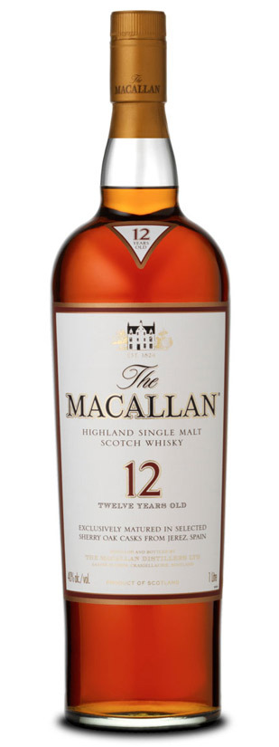 The Macallan, Sherry Oak 12 Años
