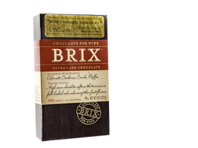 Chocolate Brix, Extra Dark 8 Oz