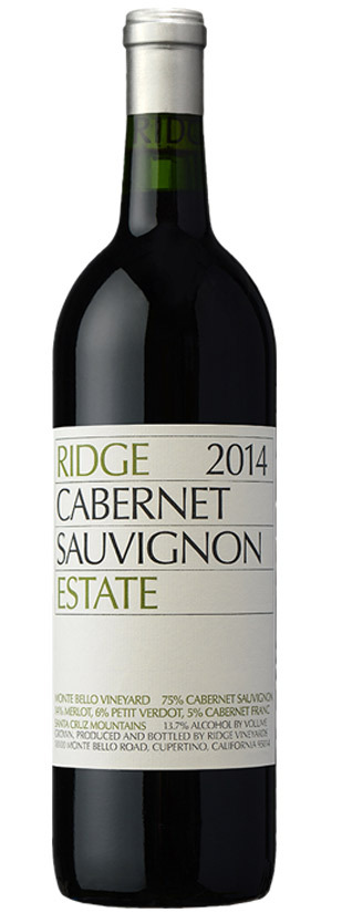 Ridge Vineyard, Cabernet Sauvignon, 2014