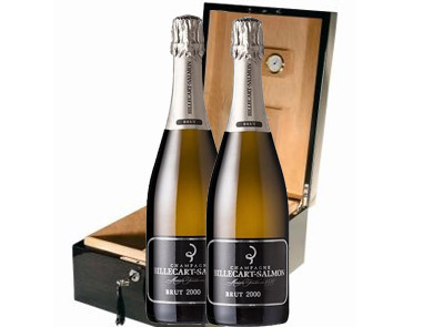 Billecart-Salmon, Cofre Cava de Cigarros + Billecart (2 botella, 2000