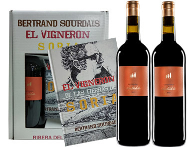 Antídoto, Bertrand Sourdais El vigneron La Cigarra 2 botellas + Cómic, 2016