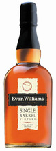 Evan Williams, Single Barrel Vintage, 2001