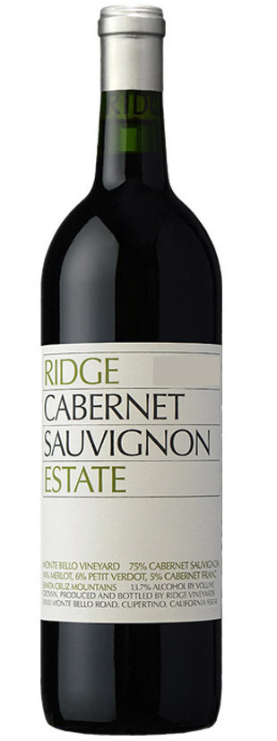 Ridge Vineyard, Cabernet Sauvignon Estate, 2016