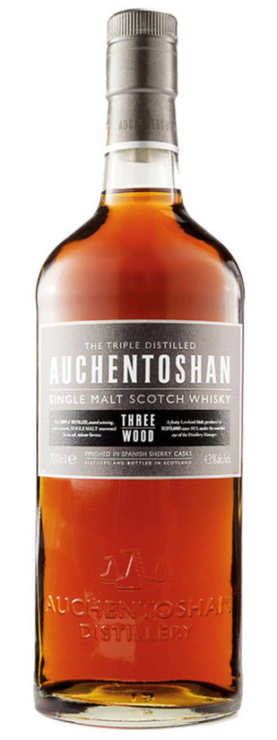 Auchentoshan Distillery, Three Wood