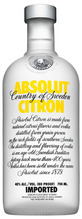 Absolut, Citron