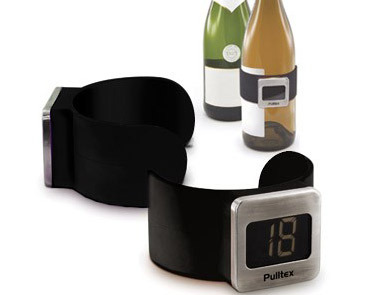 Pulltex, Bottle Termomether (Black)