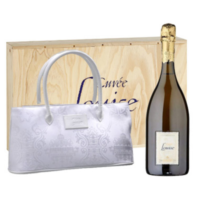 Pommery, Cuvée Louise con bolso Shangai Tang