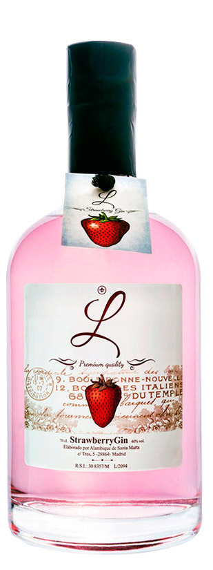 L Strawberry, London Dry Gin