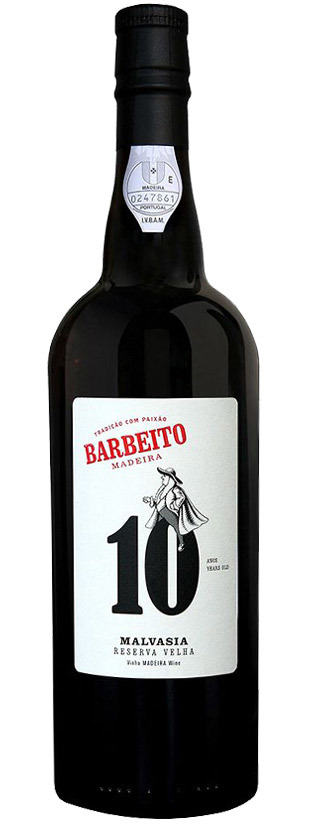 Barbeito, Malvasía Reserva Velha - 10 Years Old (Sweet)